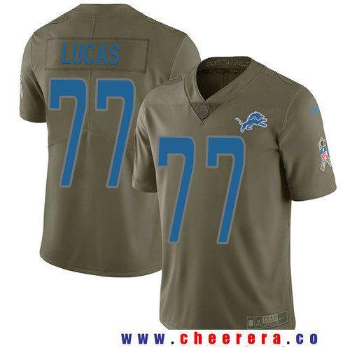 mens detroit lions 77 cornelius lucas olive 2017 salute to service stitched nfl nike limited jersey nfl jerseys i love pinterest detroit lions