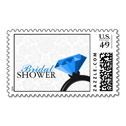 damask bridal shower stamps this is customizable to put a personal touch on your mail add your photos or text to design your own stamp that can be sent