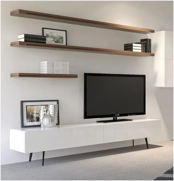 36 Amazing Tv Wall Design Ideas For Living Room Decor Amazingtvwall Tvwalldesign Livingroomdecor Om Living Room Tv Unit Living Room Tv Wall Living Room Tv