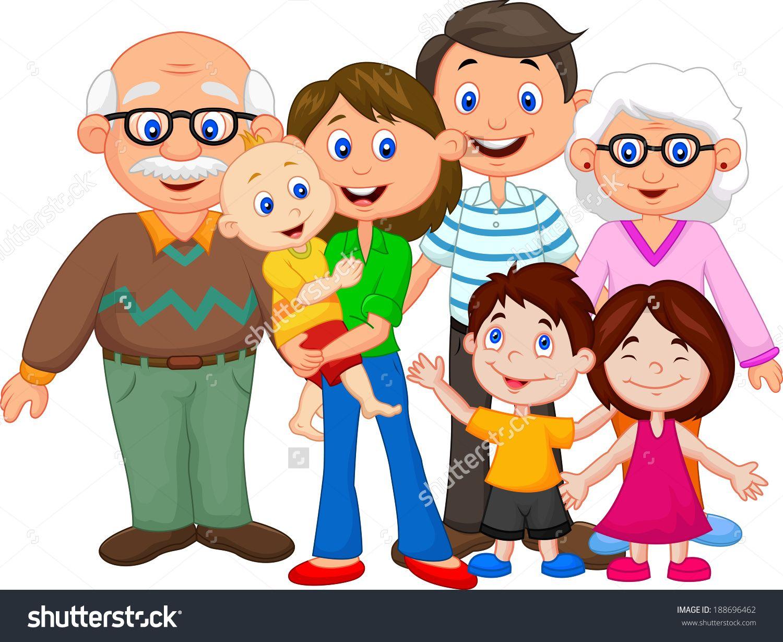 family cartoon google family clipart family picture clipart happy cartoon  [ 1500 x 1229 Pixel ]