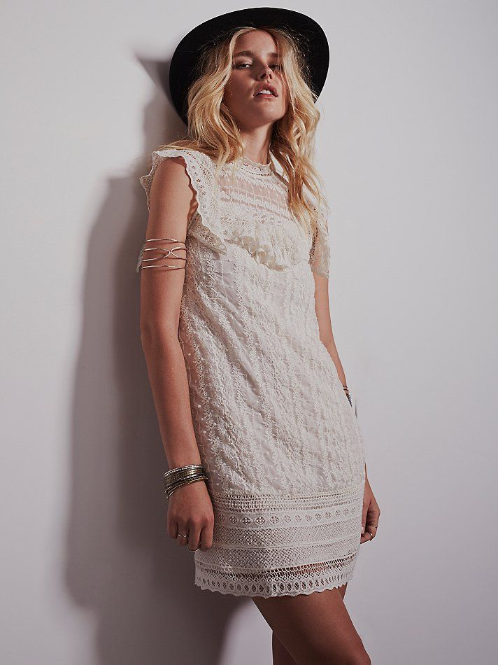 Free People Victorias High Neck Shift, £138.00