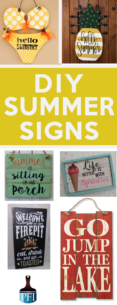 Diy Summer Signs Summer Diy Summer Signs Diy Wood Signs