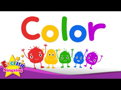 130 Kids Vocabulary Color Color Mixing Rainbow Colors