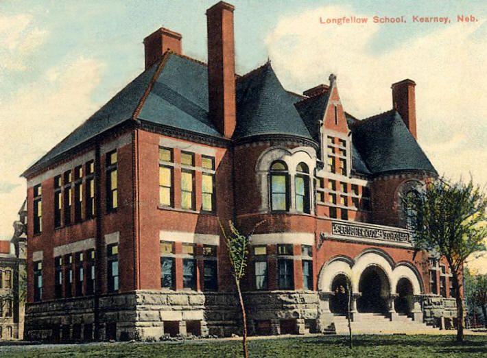 Longfellow School Kearney Nebraska I Went To Jr High Here One