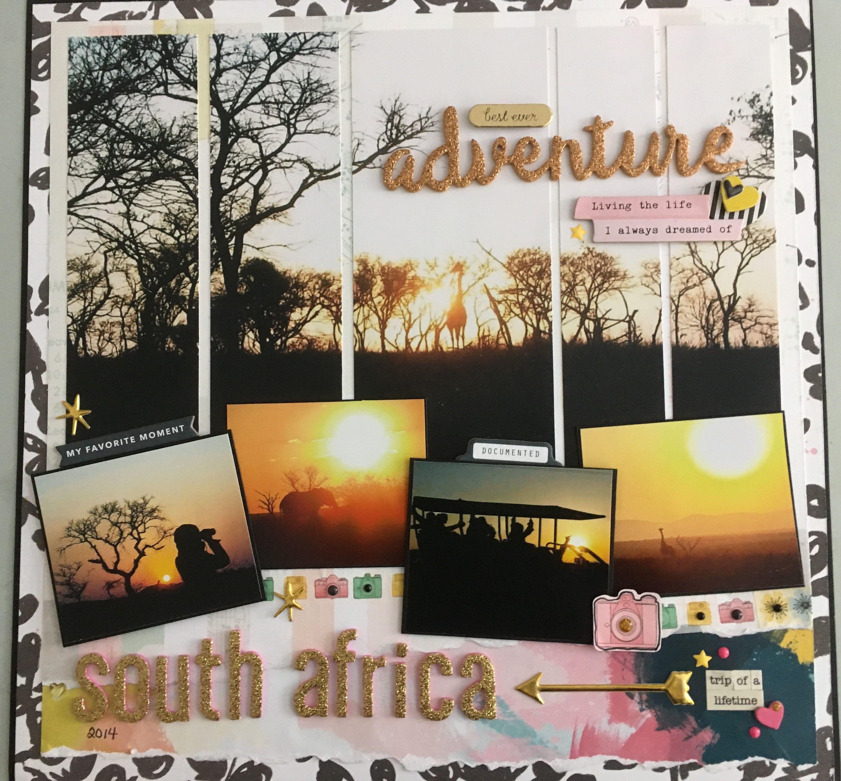 Best Ever Adventure Scrapbook Com Scrapbook Cover Travel