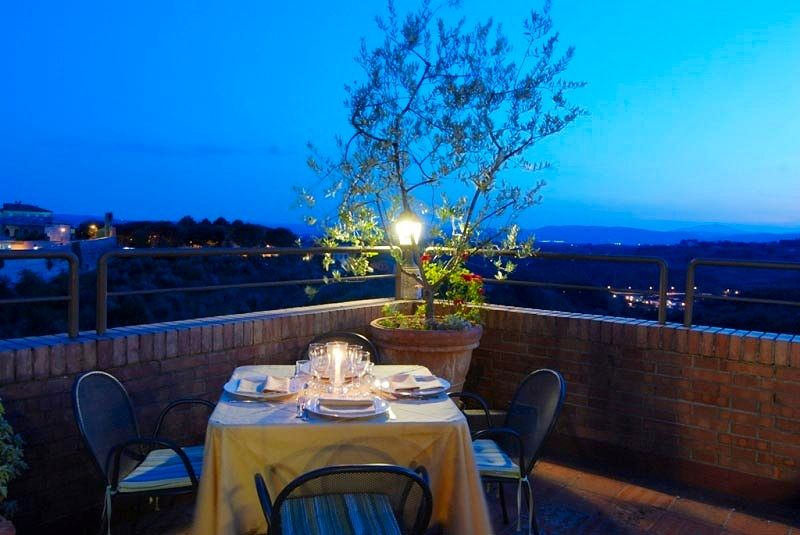 La Terrazza - Hotel Athena, Siena, Italy | Amazing Honeymoon ...