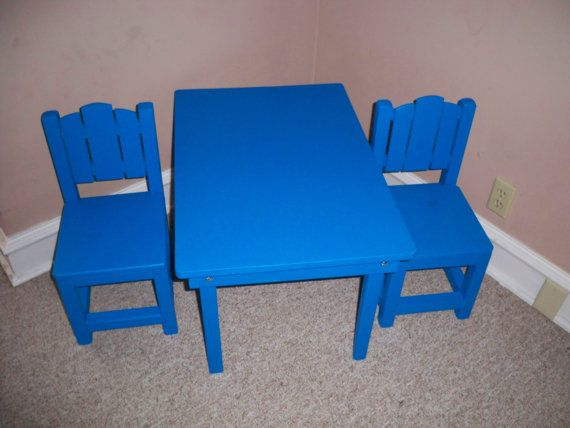 Superb Kids Table And Chairs Table 30 By 20 5 By 18 Inches Tall Short Links Chair Design For Home Short Linksinfo