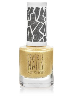 Crackle Topcoat in Gold Digger