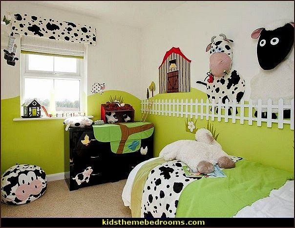 Decorating Theme Bedrooms Could Put Triangular Braces Around Room With Picket Angled Out To Make She Farm Bedroom Kids Country Themed Bedrooms Bedroom Themes