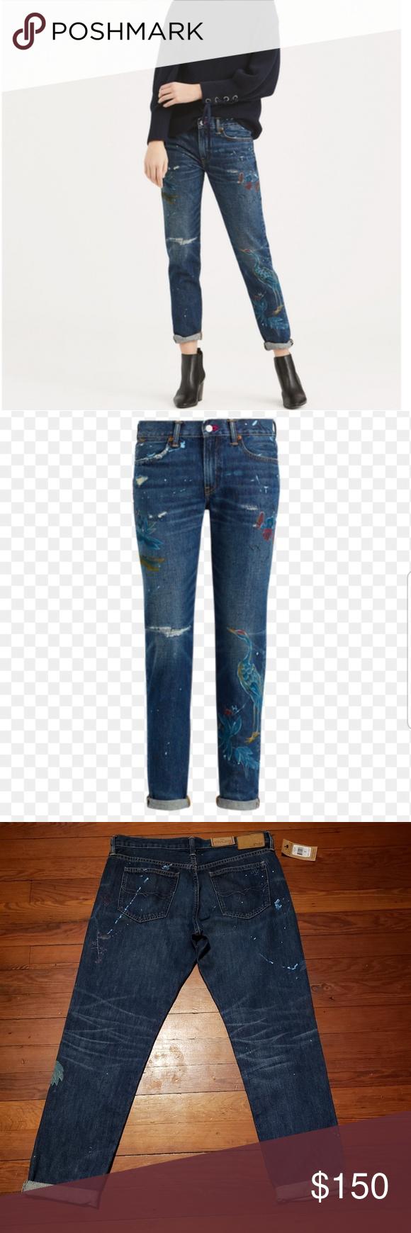 Polo Ralph Lauren Astor Slim Boyfriend Jeans | Ralph
