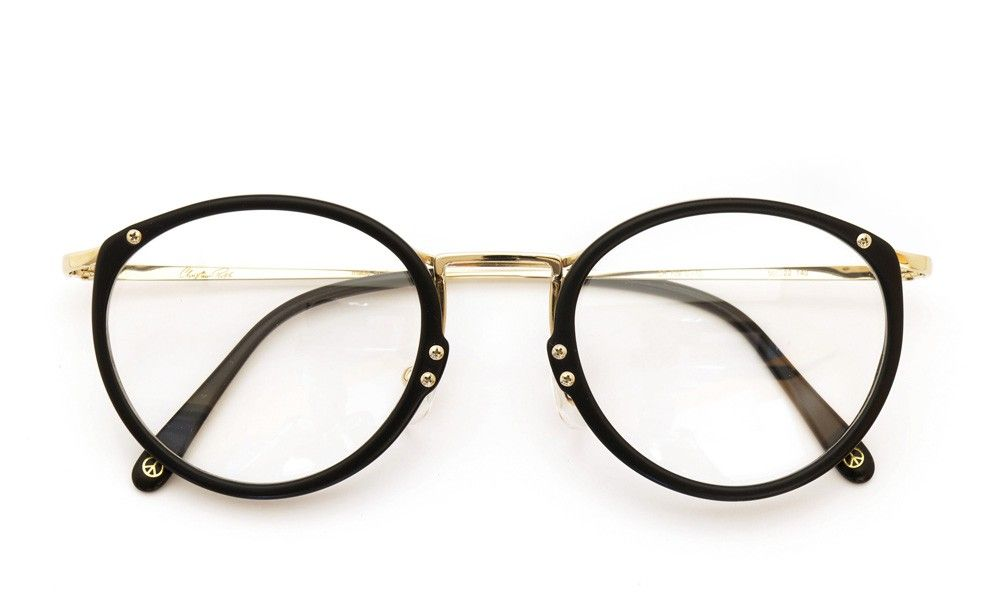 Christian Roth [CR F-09 C-10 matte black/gold] | optician | ponmegane