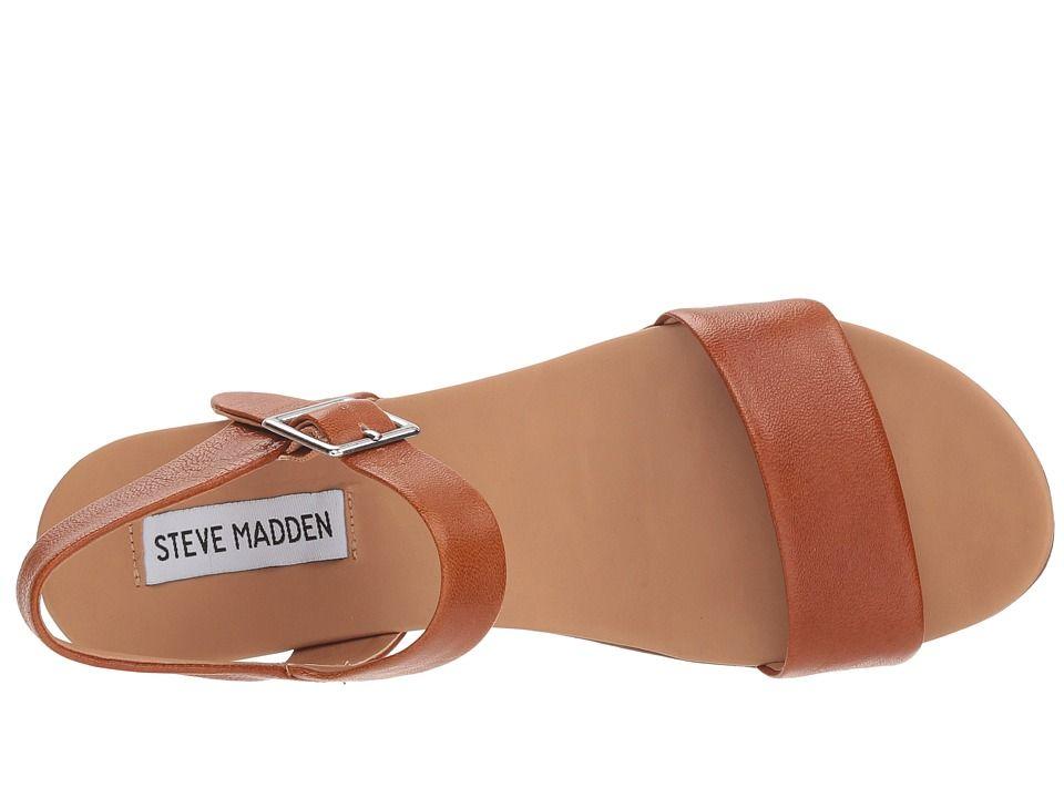 557e79a59fe8 Steve Madden Aida Women s Shoes Cognac Leather