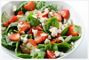 Spring Is In The Air: Strawberry Spinach Salad