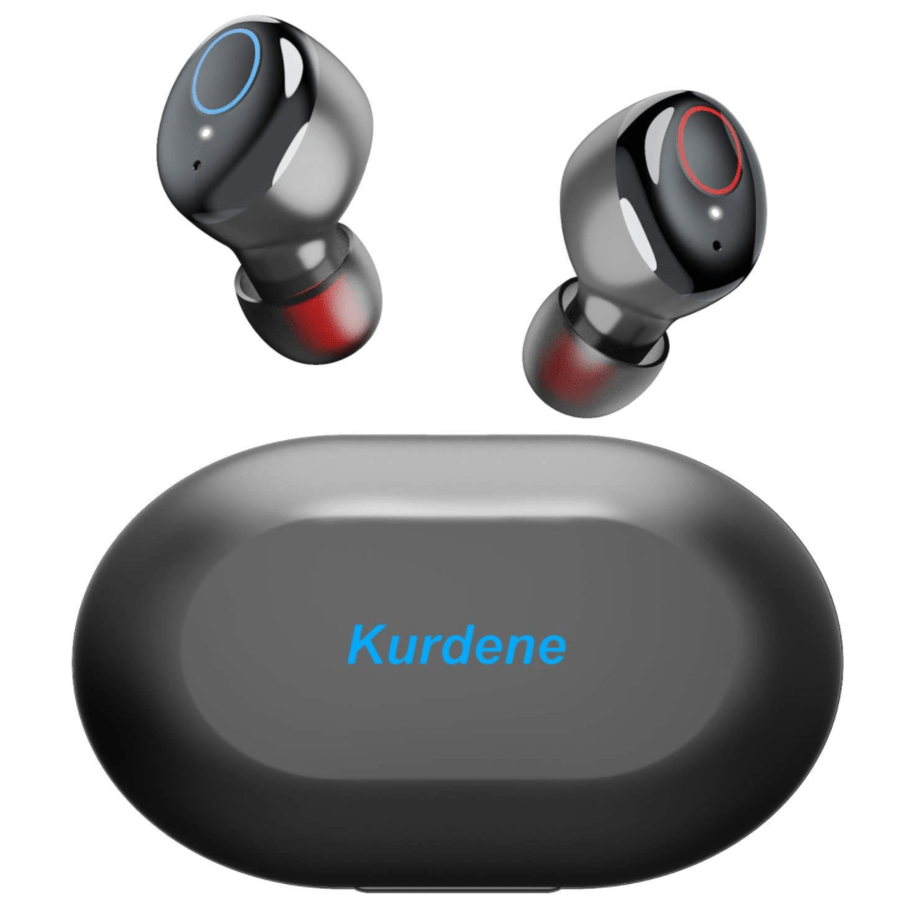 Kurdene Waterproof Bluetooth Earbuds With Mic And Charging Case Now 17 44 Was 39 99 More Colors Swaggrabber Wireless Earbuds Bluetooth Earbuds Bluetooth Earbuds Wireless