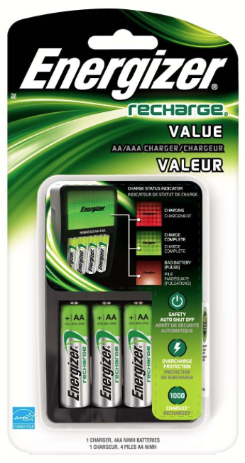 Energizer Recharge Value Charger Review Mom And More Energizer Battery Aaa Battery Charger Rechargeable Battery Charger