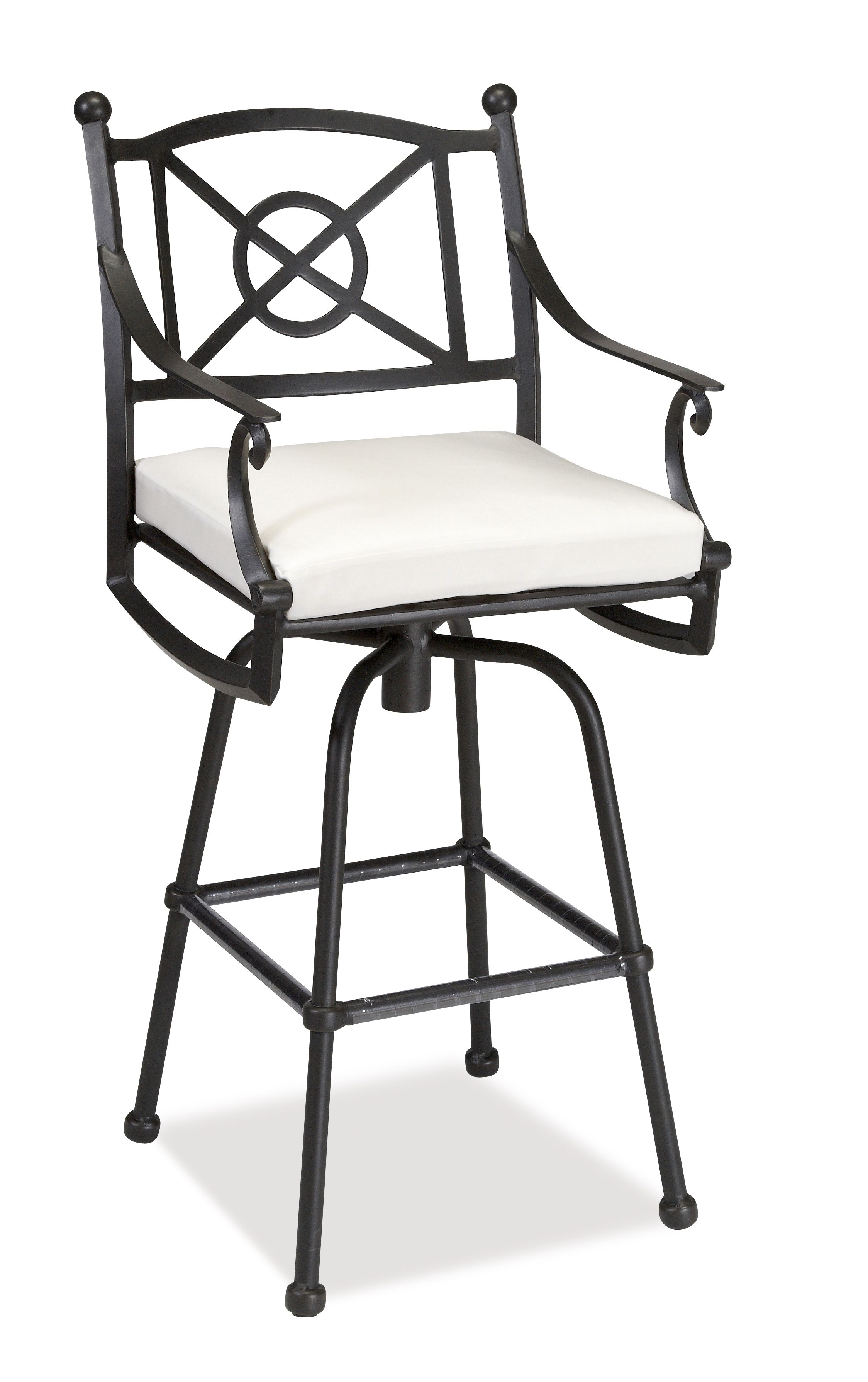 San Miguel Bar Arm Swivel Chair | Castellano Collection