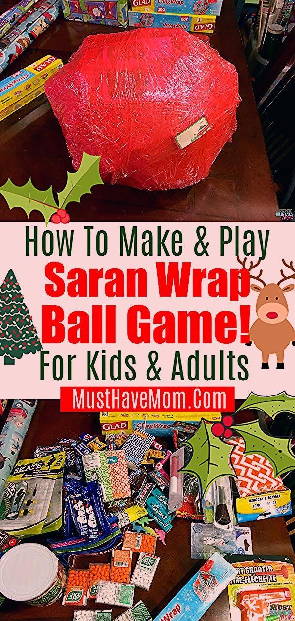Photo of Saran Wrap Ball Spiel! Fun Party Game Idee für Kinder oder Erwachsene. Auf dem Blog …