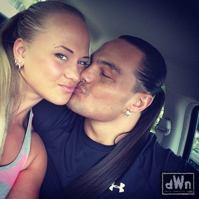 Olivia And Tyler S Black Tie Wedding In Their Family S: New Photo Of Bo Dallas Kissing His Wife Sarah Backman Http