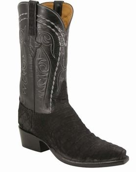 Mens Lucchese Classics Black Sueded Caiman Crocodile Belly Custom Hand Made Cowboy Boots L1342 With Images Boots Cowboy Boots Cowboy