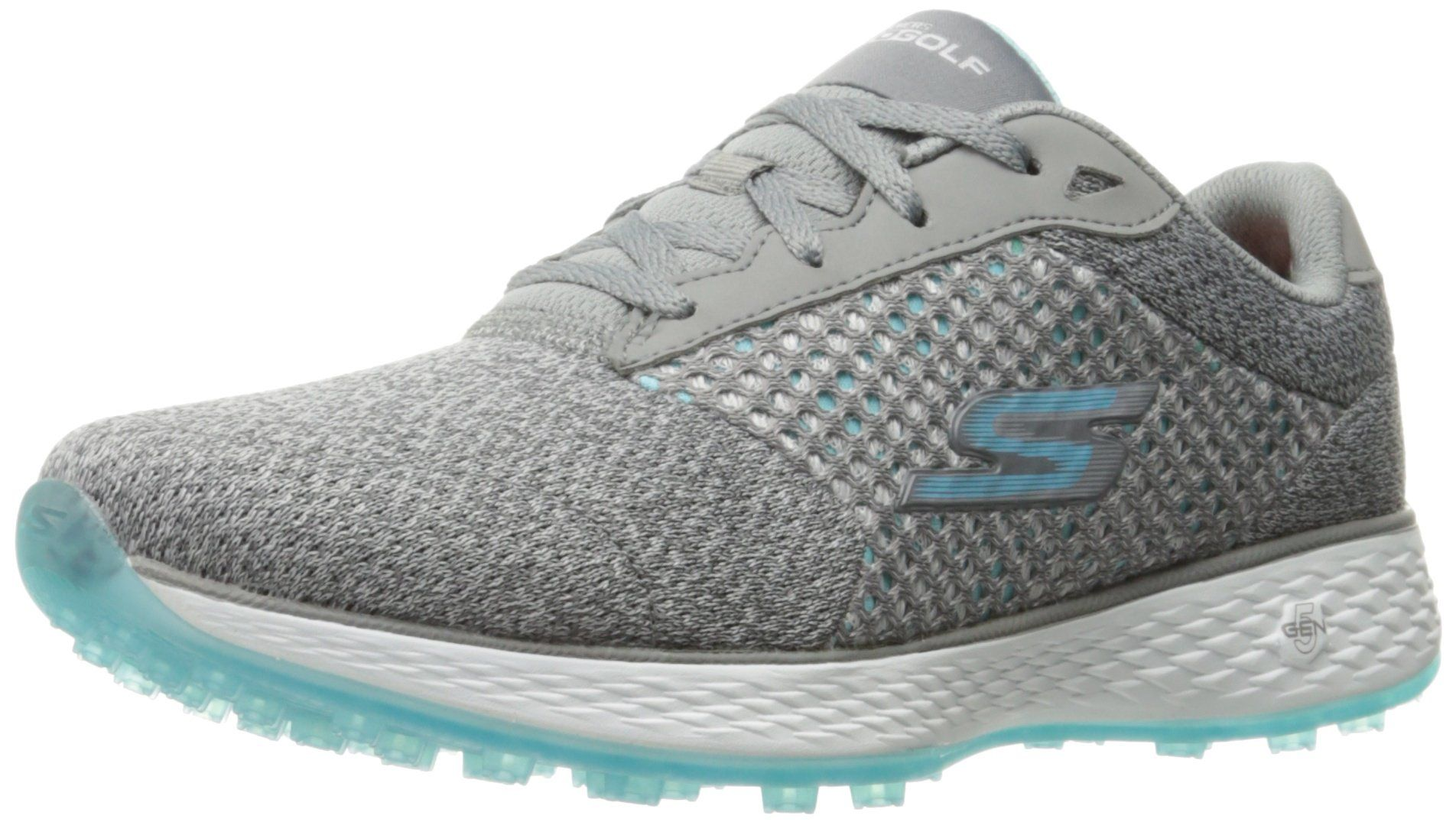 Zapatillas deportivas Go Flex Ultra de Skechers Performance para mujeres, carb�n / agua