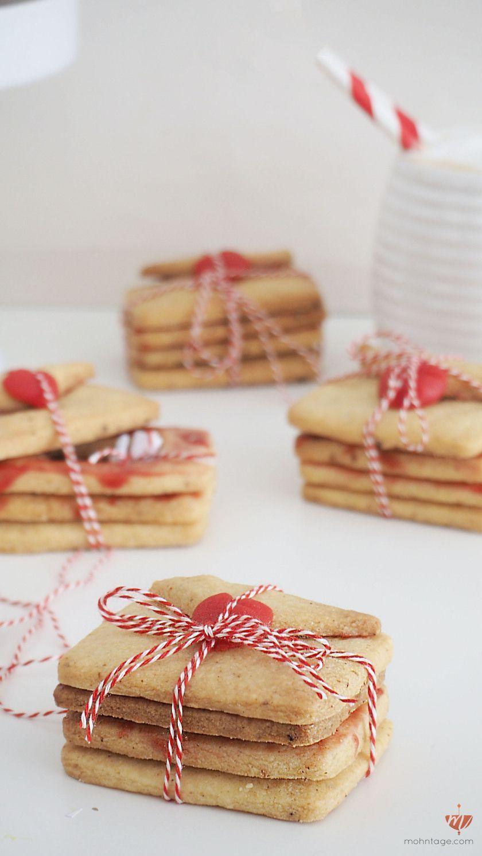 Photo of Süße Liebesbriefe für Valentinstag Piñata Cookies mit versteckter Nachricht …