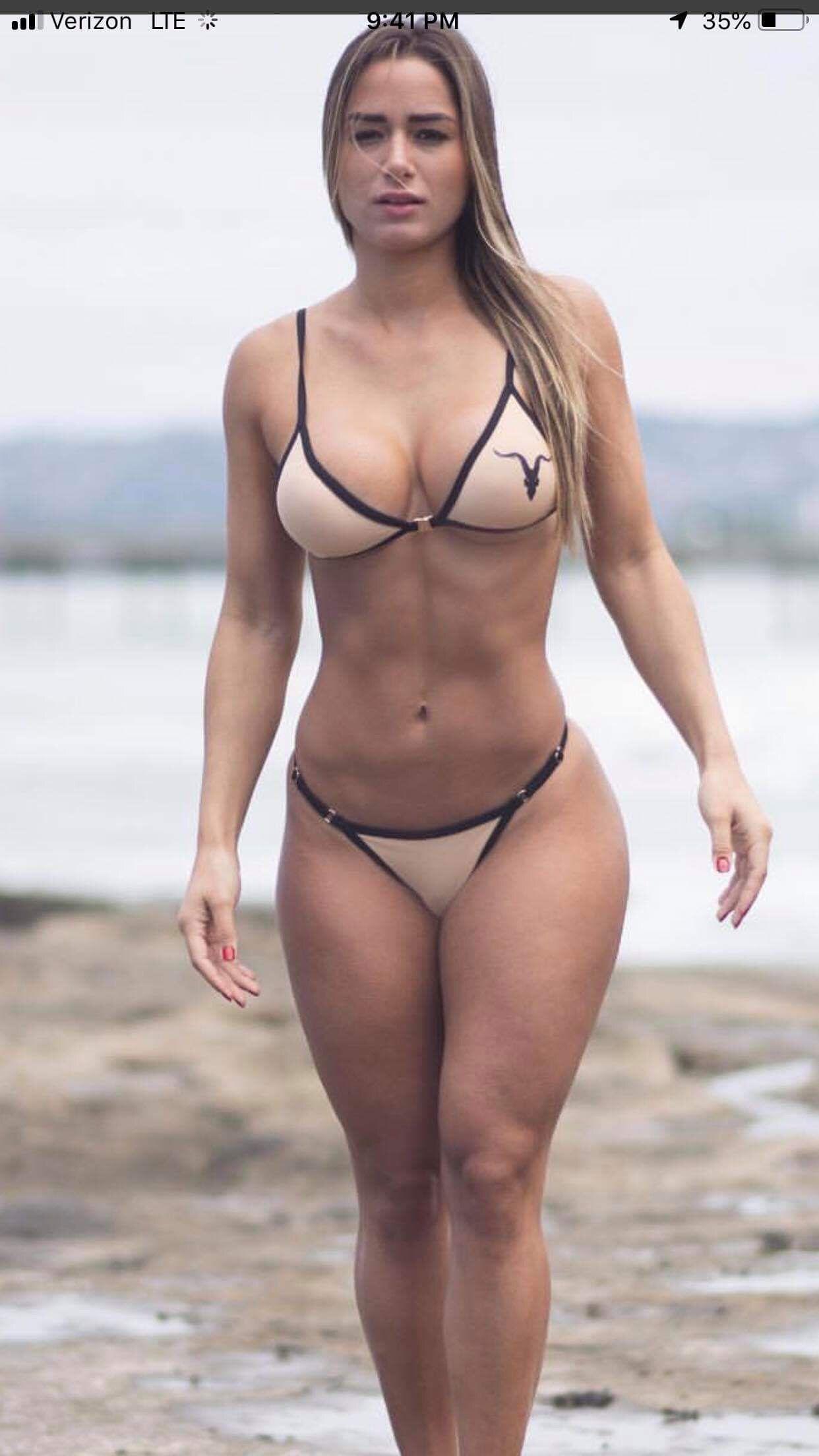 d812e3fc75 Pin by Betelguise Lucas on very beautiful and insanely hot women :-) in 2019    Bikinis, Bikini babes, Thong bikini