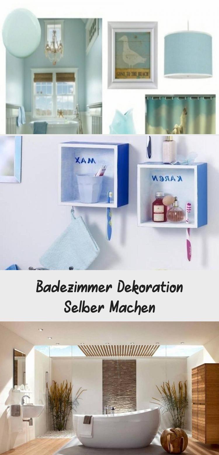 Badezimmer Dekoration Selber Machen In 2020 Bathroom Medicine