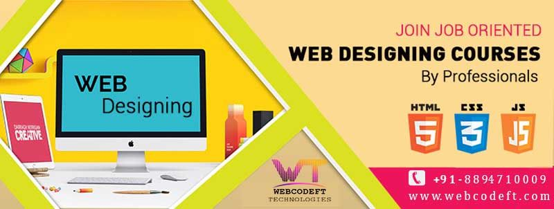Webcodeft Technologies For Is The Better And Top Rated Web Designing Training Center In Ha With Images Web Design Services Web Development Design Web Design Training