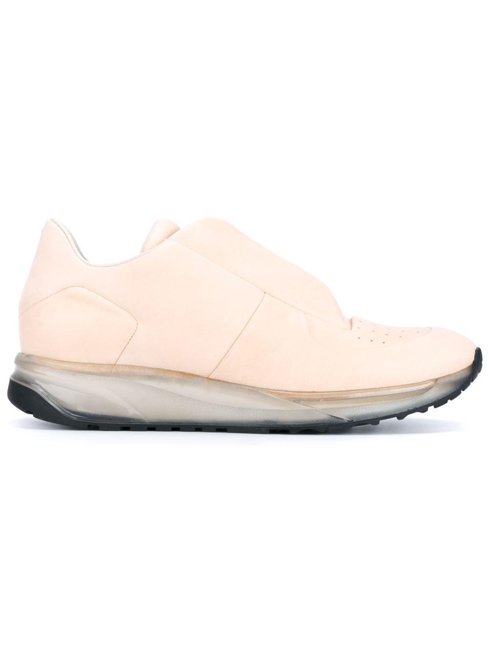 Maison Margiela trasparent concealed vamp sneakers