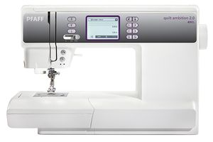 מכונת תפירה קווילט אמבישן 2 0 Quilt Ambition Pfaff Pfaff מכונות תפירה ואוברלוק Sewing Machine Quilting Sewing Machine Sewing Machine Online