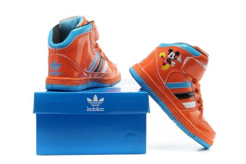USA Store salebright naranja azul adidas Disney Mickey linda sonrisa