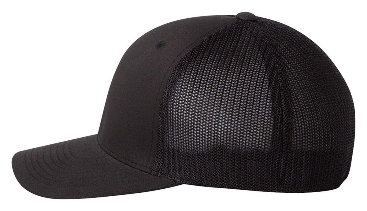 008dfec71 Details about FLEXFIT - FITTED TRUCKER CAP, MESH BACK, BASEBALL HAT ...