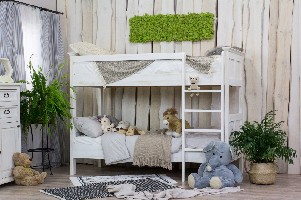 Drewniane Lozko Pietrowe Sosna Woskowana 8265482647 Oficjalne Archiwum Allegro Toddler Bed Bed Loft Bed