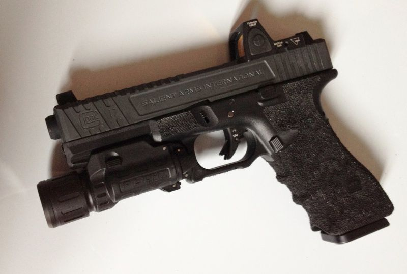 Glock 17 Sai Tier2 Rmr Tm Glock 18c Slide Prime Acm Red Dot Gm