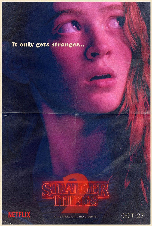 StrangerThings - Season 2, Character poster of Maxine