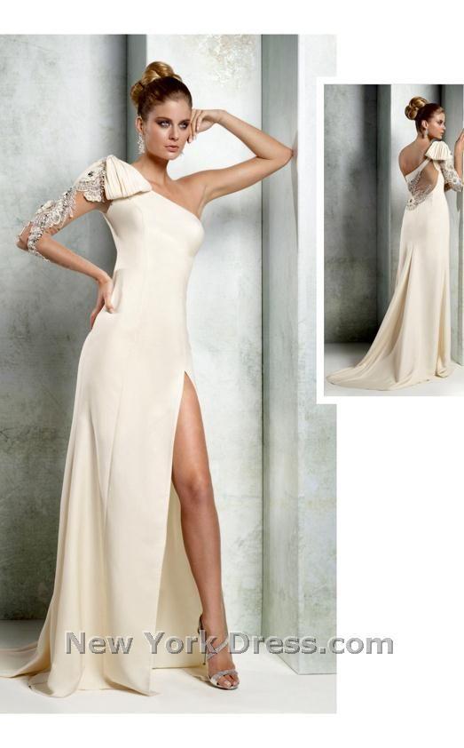 White and Ivory Dresses | Wedding | Pinterest | Prom, Prom ...