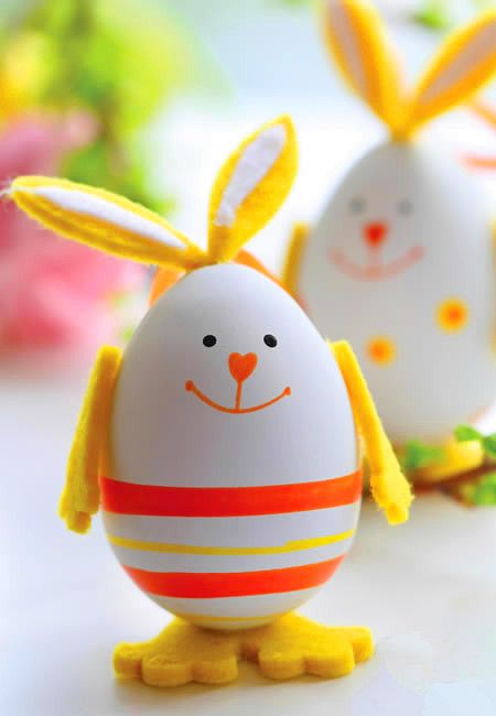 Cute Easter Bunny Egg Decoration  Favorite Places  Spaces  Easter Easter crafts Easter