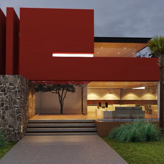 Guadalajara alberca arquitectos arquitectura - Arquitectos casas modernas ...