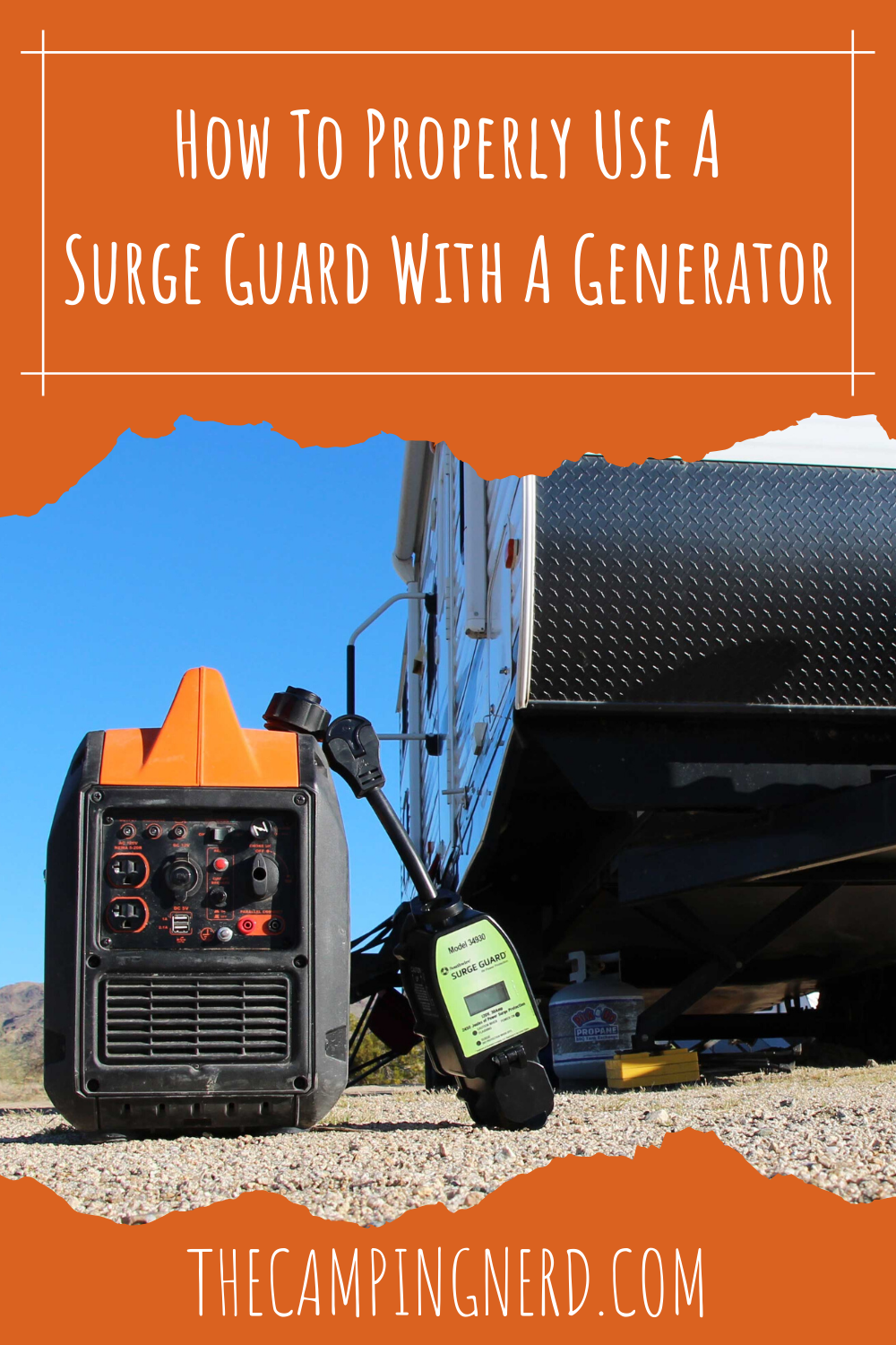 How To Use A Surge Guard With A Generator Open Neutral Fix In 2020 Generation Neutral Guard
