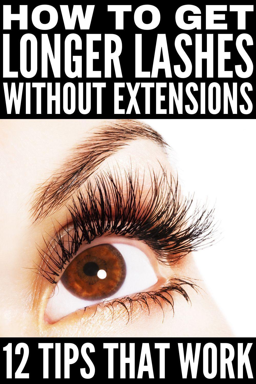 How to grow longer eyelashes 12 tips for beautiful lashes