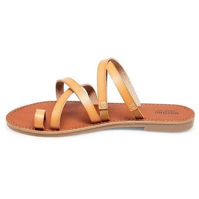 e61ebcb9af80c1 Women s Lina Slide Sandals Mossimo Supply Co. - Tan 5.5
