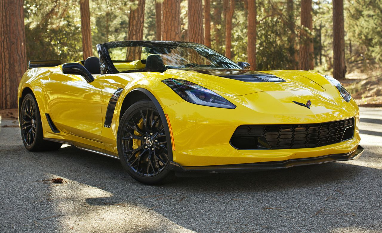 1967 Chevrolet Corvette Stingray 427 And 2015 Z06 Convertible