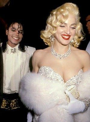 Madonna and Michael Jackson!