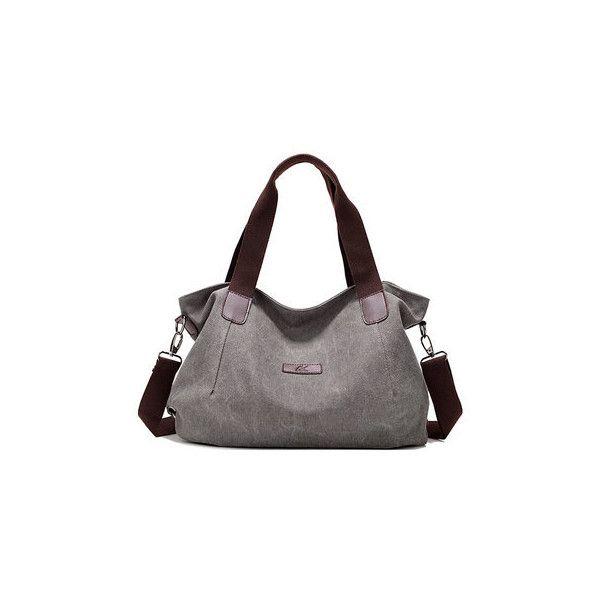 a02632358b23 Women Canvas Large Capacity Shoulder Bags Handbags Casual Crossbody... (44  BAM)