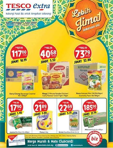 Tesco Extra Monthly Catalog Promotions In Malaysia Tesco Extra Grocery Ads Tesco