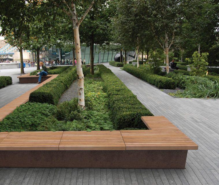 Grandifioriere Planter Seating By Id Inc Urban Furniture Design Landscape Architecture Design Landscape Architecture
