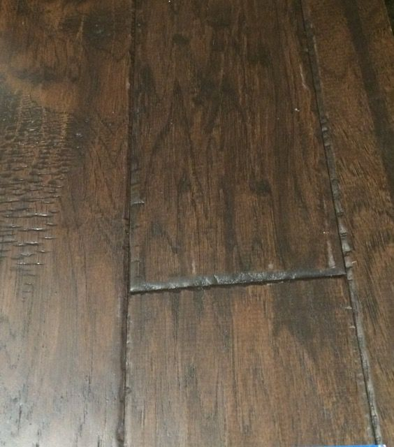 Woodmark By Pacific Coast Wood Floor Chapel Hill Hickory With Espresso Stain New Homes Wood Floors Remodel