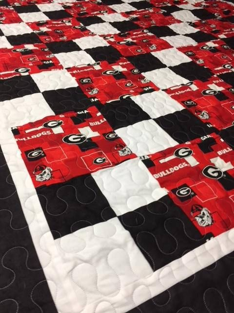 University of Georgia Quilt   Quilts by NeNes.Quilts on Etsy ... : quilting university - Adamdwight.com