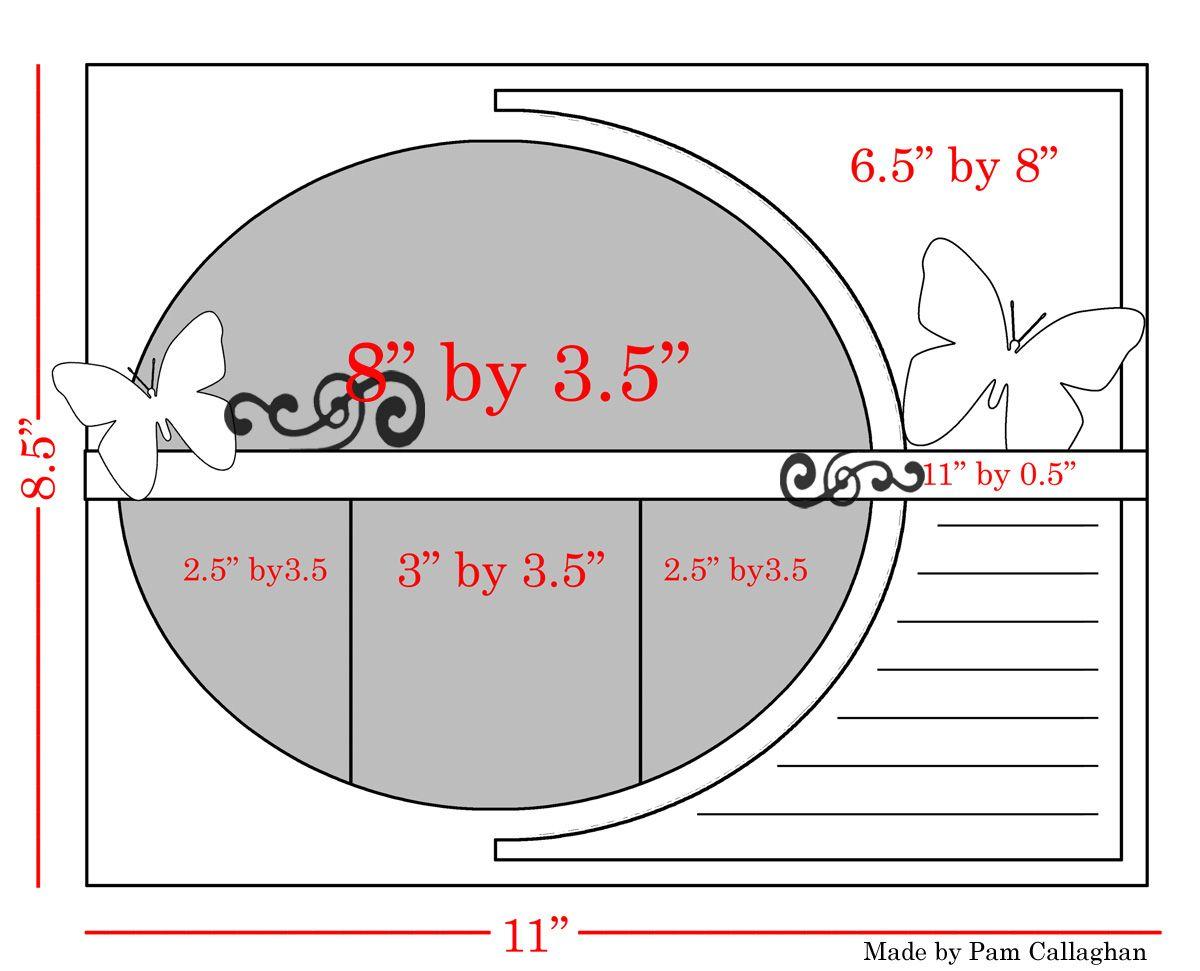 Ideas for Scrapbookers: New Ellipse template +digital item ...