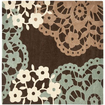 Safavieh Modern Art Brown/Multi Rug Rug Size: